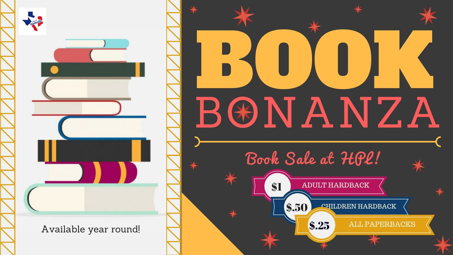 BOOK BONANZA - book sale