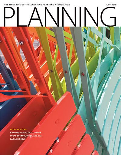 APA Planning Magazine July 2018 cover
