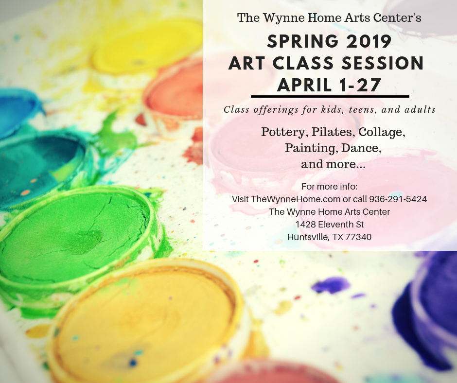 Spring 2019 Wynne Home Art Classes (2)