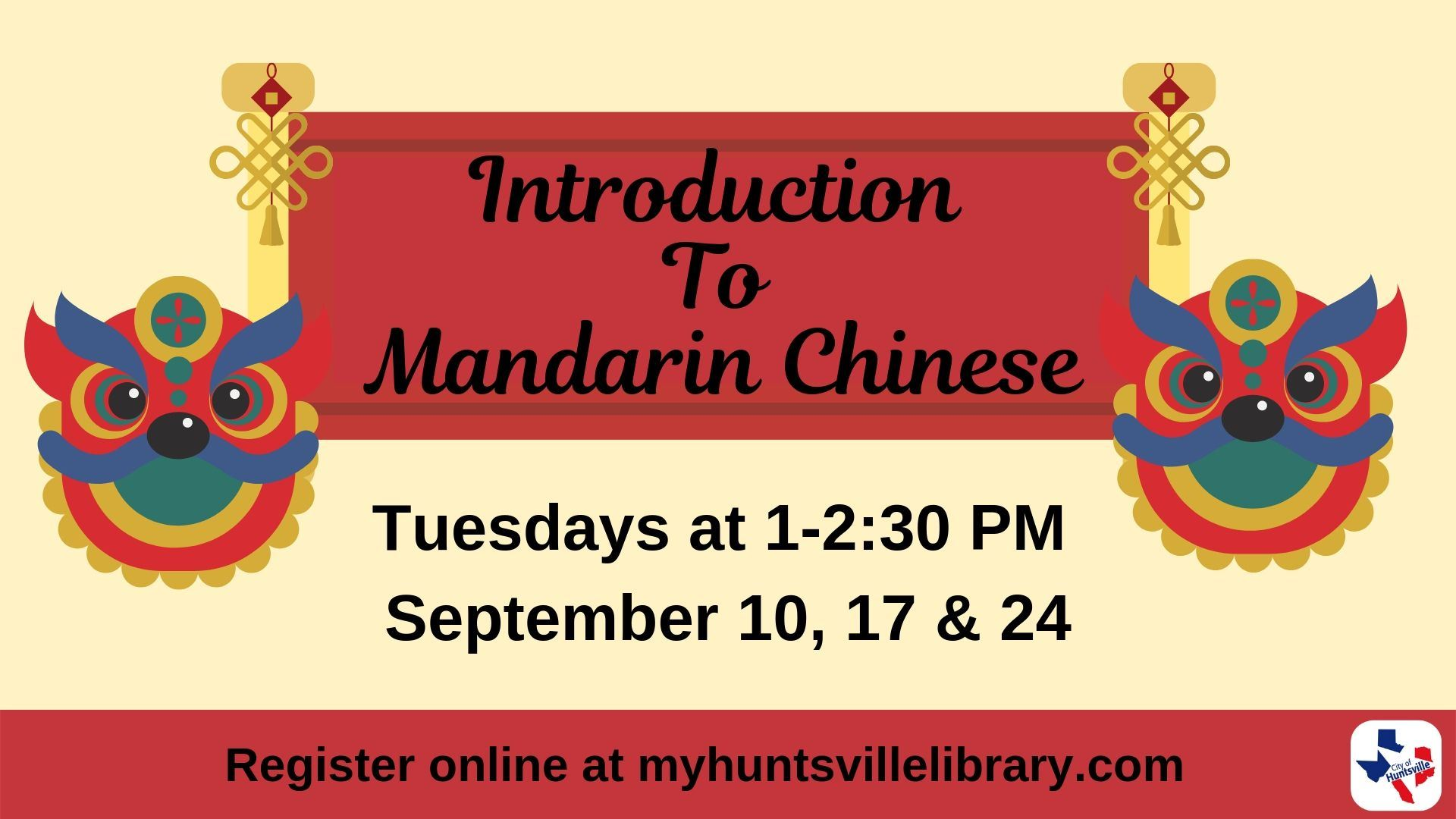 Intro. Mandarin Chinese 09-2019