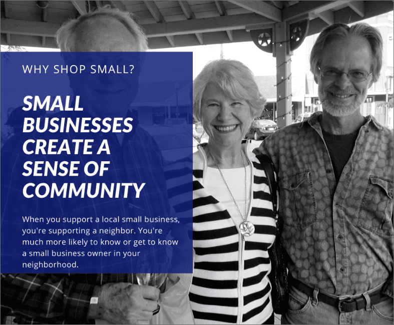Small Businesses Create a Sense of Community