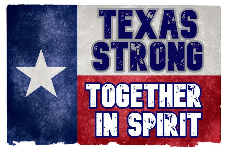 Texas Strong Together in Spirit