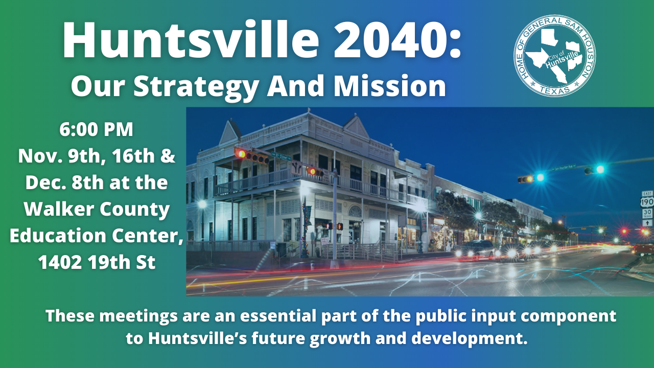 The Huntsville Horizon Comprehensive Plan