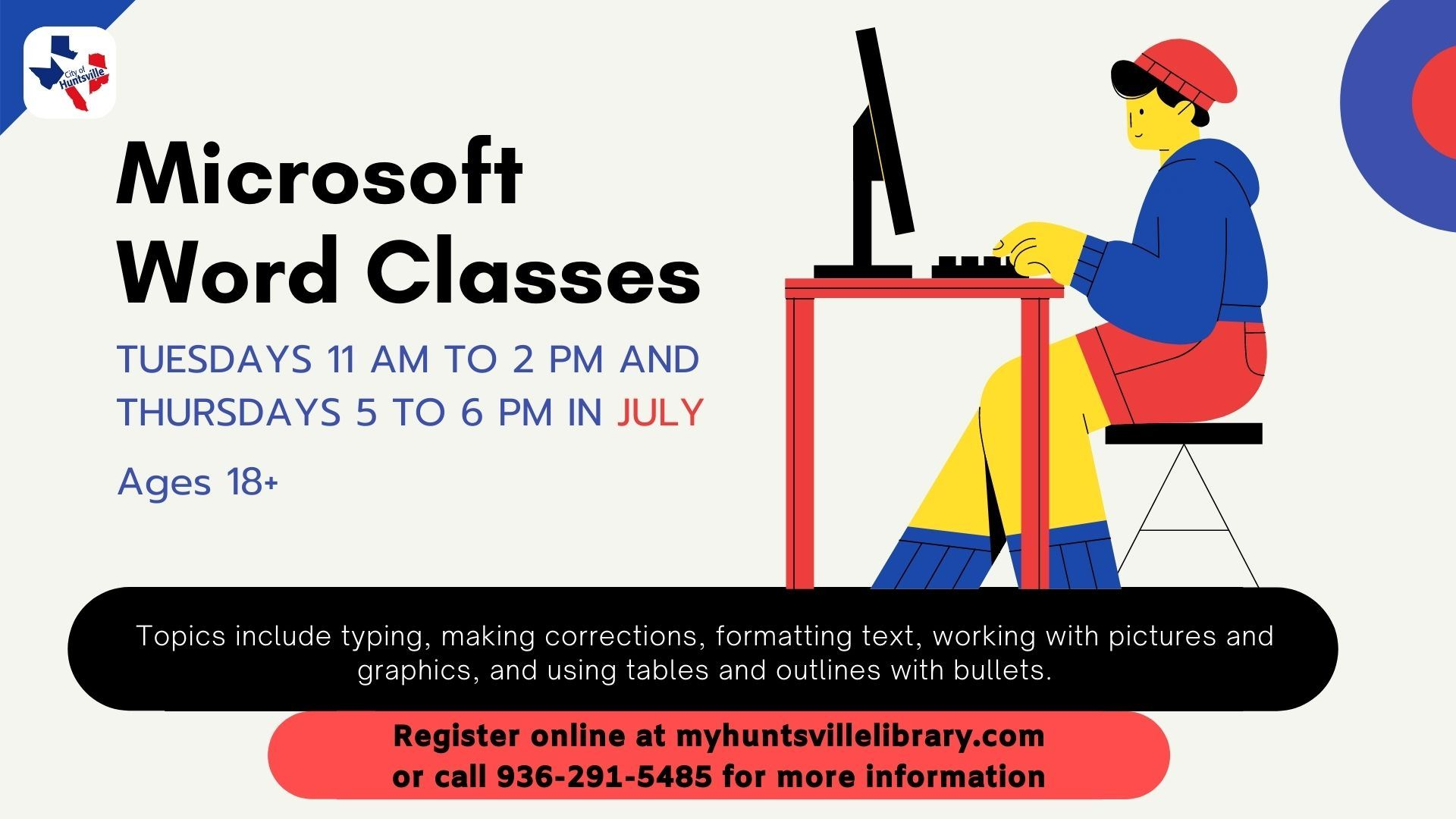Microsoft Word Classes July 2021