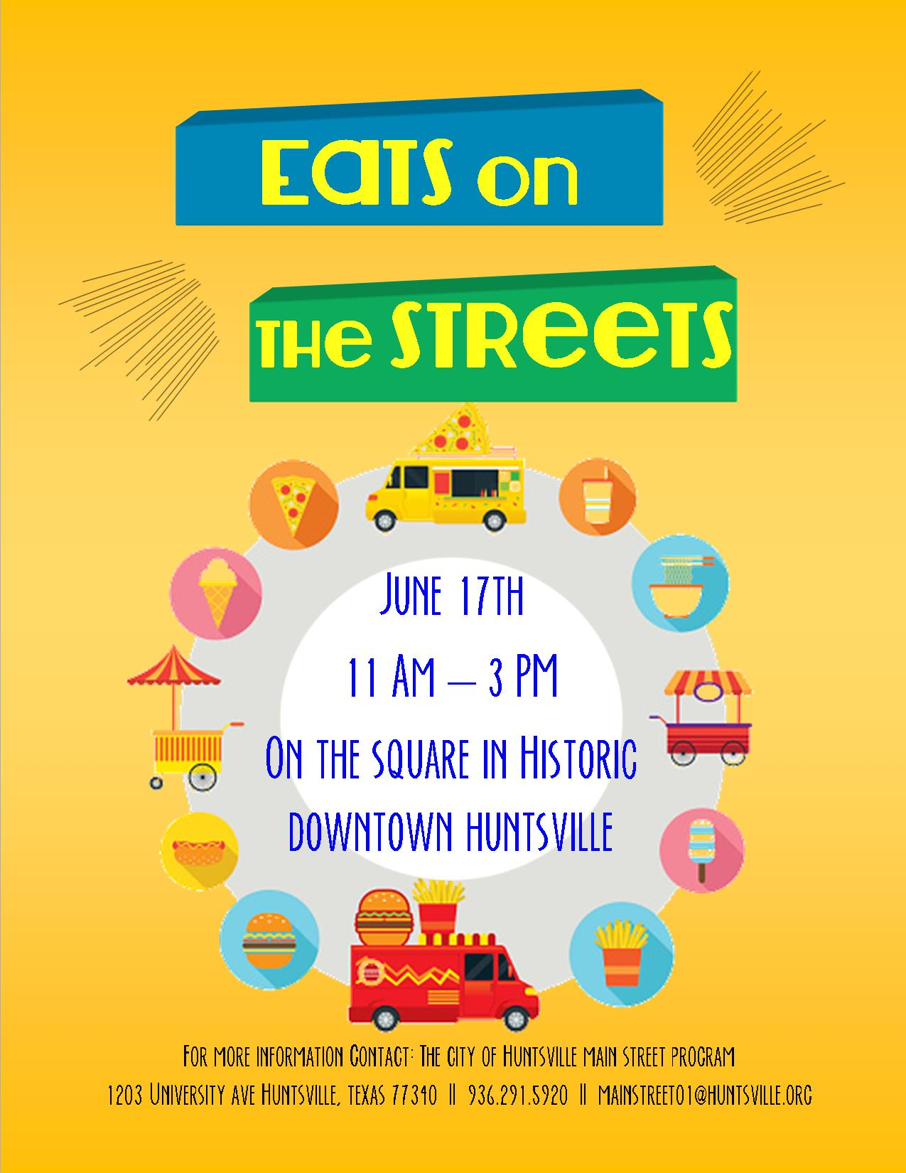 eats on the street poster