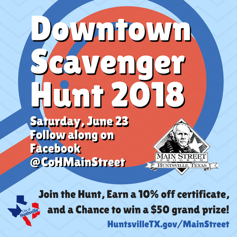 Downtown Scavenger Hunt