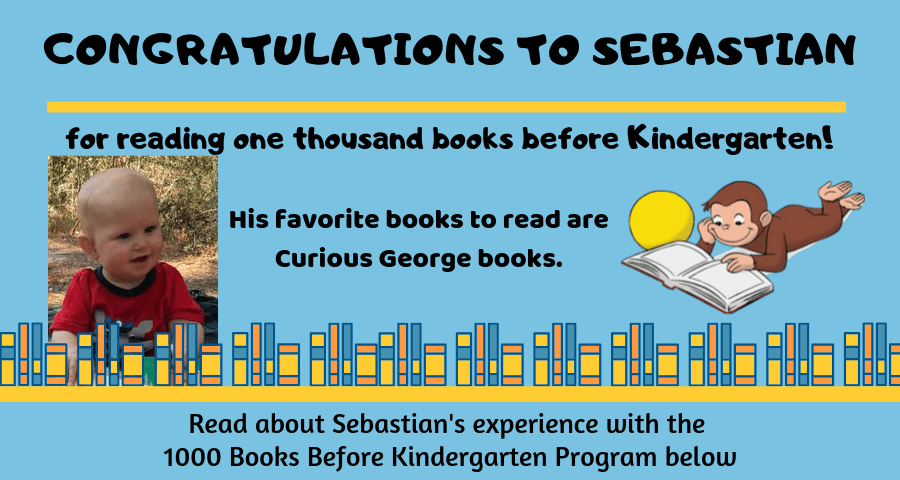 1000 Books reader - Sebastian
